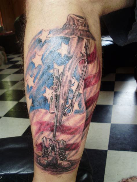soldier memorial tattoo design army tattoos designs ideas and meaning