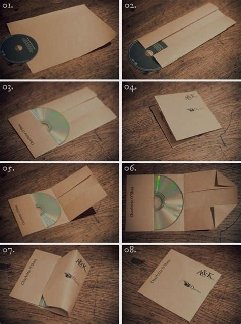 How To Make A Paper Cd Sleeve - 25 best ideas about cd cover on cd design cd