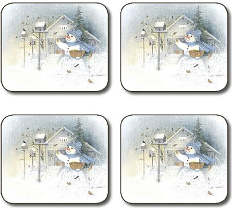 Jason Table Mats by Placemats Jason Frosty Morning Placemats Festive