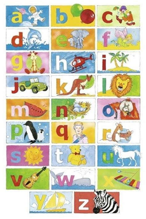 my words animals book abc s for alphabet book abc book baby book toddler book children book boys animal comics graphic color illustrations volume 1 books alphabet poster learn my abc 61x91cm wall chart