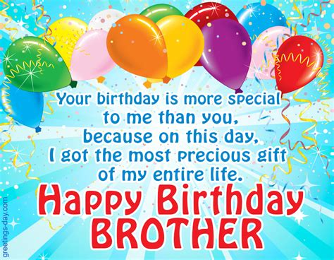 Happy Birthday Wishes For Siblings Happy Birthday Brother Free Ecards Wishes In Pictures