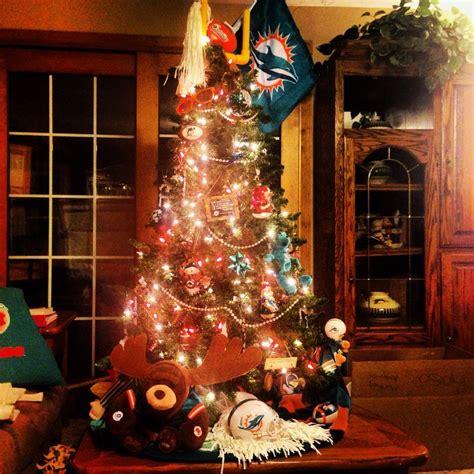 miami dolphins christmas tree miami dolphins
