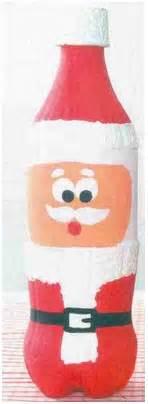 imagenes de santa claus reciclado manitas pap 225 noel con material reciclado