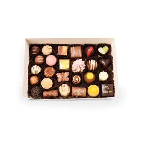 Handmade Chocolates Australia - assorted chocolate gift box 26 pieces s handmade