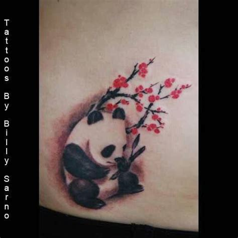 panda flower tattoo 32 best panda flower tattoo images on pinterest flower