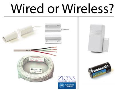 should i get a wired home security system or a wireless