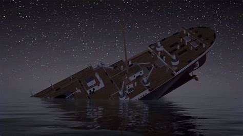 titanic one boat came back re live the sinking of the titanic in real time video