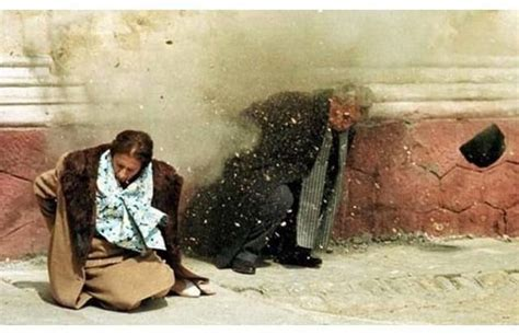 haunting photos of famous people before they died this photo shows romanian dictator nicolae ceausescu and