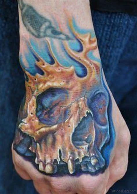 skull hand tattoo 80 best skull tattoos on