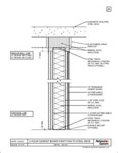 2 hour ceiling assembly 2 hour floor ceiling assembly lader