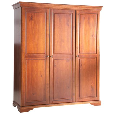 Three And An Armoire by Armoire 3 Portes Style Louis Philippe Merisier