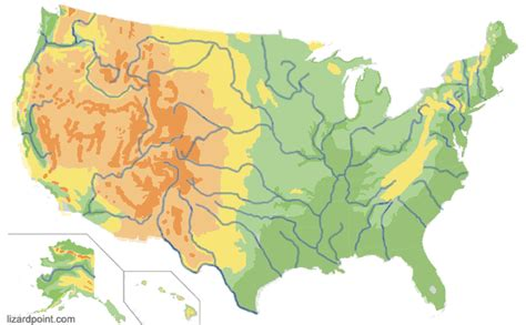 us map quiz lizard point test your geography knowledge usa geophysical regions