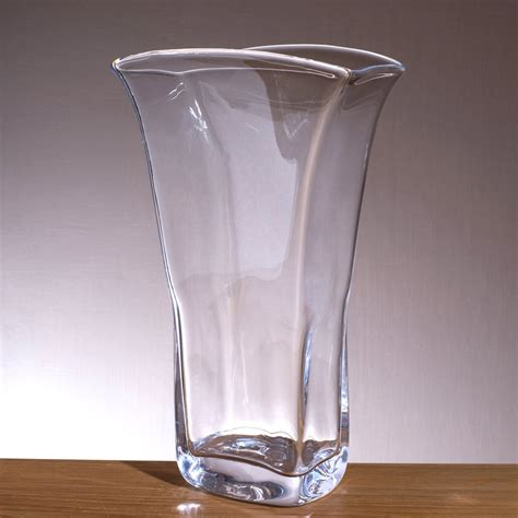 Simon Pearce Vase by Simon Pearce Woodbury Rectangle Vase Large