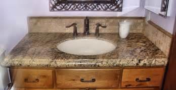 Bathroom Vanity Countertops Ideas by Granite Bathroom Countertops Beige Granite Bathroom