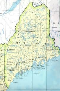 maine map travel information hotels accommodation
