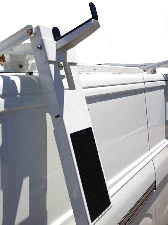 ford transitnissan nv  roof cargo van drop  ladder
