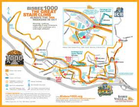 map of bisbee arizona bisbee 1000 the great stair climb bisbee vogue inc