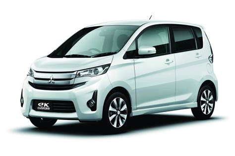 mitsubishi ek wagon nissan dayz and mitsubishi ek wagon production kicks off