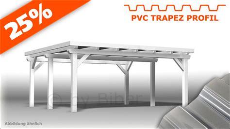carport 4x5 4 0 x 5 5m carport mit pvc trapez