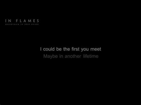 The Place Lyrics In Flames In Flames Evil In A Closet Hd Hq Lyrics In The