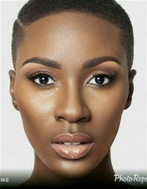 beautiful black women bald haircuts best 25 natural big chop ideas on pinterest
