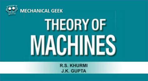 machine design khurmi google books pdf theory of machines by rs khurmi pdf free download