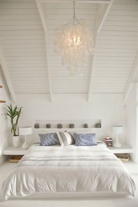 white bedroom chandelier white bedroom with cottage ceilings bedroom pinterest