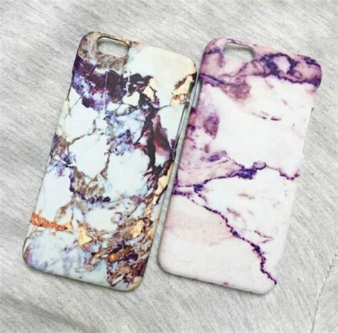Marble Pastel Casing Smartphone phone cover iphone cover marble iphone gold white pink style marblecase white