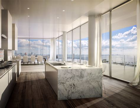 luxury penthouses for sale now photos architectural digest a glass walled penthouse by bjarke ingels is for sale in miami