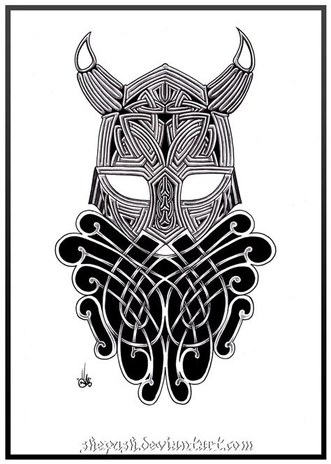 viking art tattoo designs celtic viking 2 by shepush on deviantart