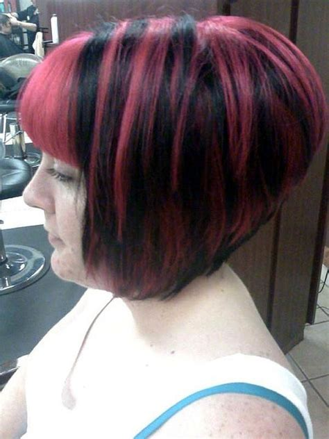 stacked bob with bangs stacked bob with bangs short hairstyle 2013