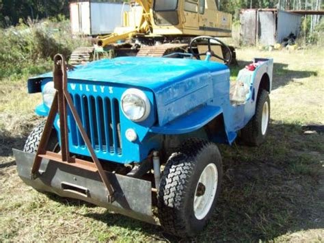Jeep Cj3b For Sale Sell Used Willys Jeep Cj3b Project In Douglas