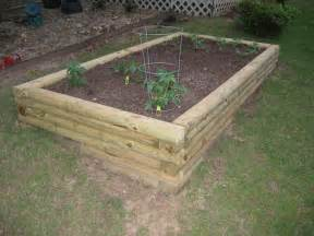 Using Landscape Timbers For Vegetable Garden Image Gallery Landscape Timbers