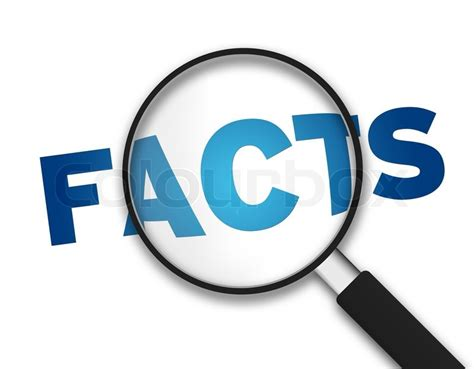 image facts magnifying glass facts stock photo colourbox