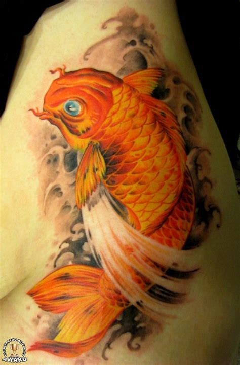 Koi Realism Tattoo | kawaii tats realistic koi fish tattoo