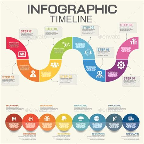 1000 Images About Best Infographic Templates On Pinterest Design Templates Banner Template Infographic Template Illustrator