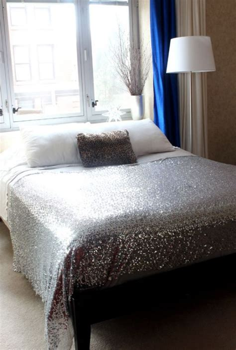 adding glam touches  sequin home decor ideas digsdigs