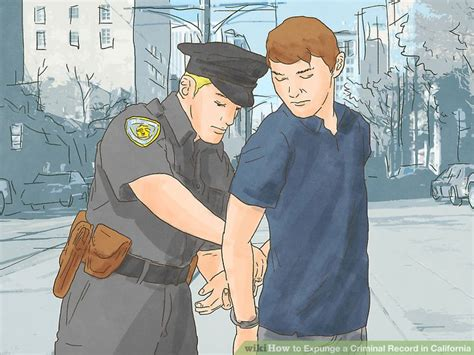 Steps To Expunge Your Criminal Record How To Expunge A Criminal Record In California With Pictures