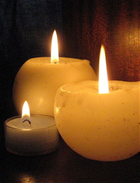 candlemas christians bless candles on presentation of