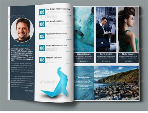 photoshop magazine template multipurpose magazine template photoshop psd by pmvch