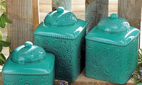 western canisters for a s kitchen magazine