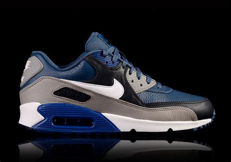 Nike Airmax 90 Cewe Running 37 40 nike air max 90 leather blue for 105 00 basketzone net
