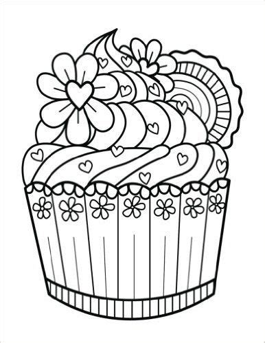 dessert coloring pages dessert junk food pages coloring pages