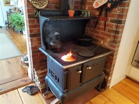 Wood Burning Kitchen Stove by Consider Refurbished Appliances For Style Reliability