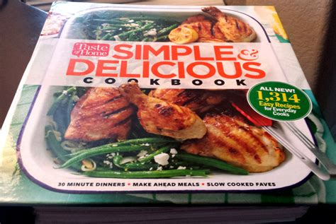 Taste Of Home Sweepstakes - taste of home simple delicious cookbook giveaway