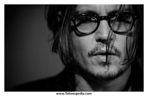 johnny depp baudelaire tattoo johnny depp quotes about tattoos quotesgram