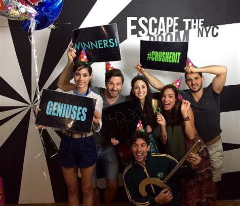 escape the room nyc review winners picture of escape the room nyc new york city tripadvisor