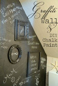 diy chalk paint with unsanded grout spray paint graffiti furniture tutorial because my