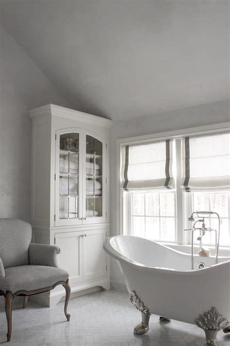 Grey And White Bathroom Decor by White And Grey Bathrooms Transitional Bathroom