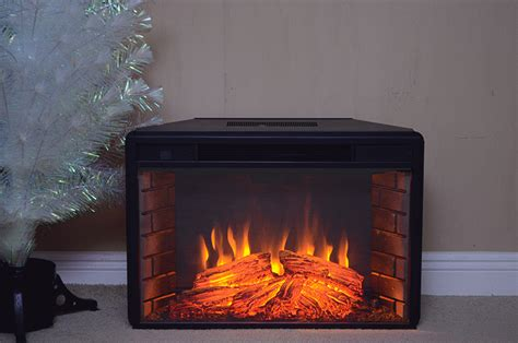How To Turn On Electric Fireplace by New Black Electric Firebox Fireplace Insert Room Heater 28